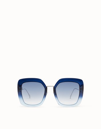 Blue and pale blue sunglasses - TROPICAL SHINE | Fendi