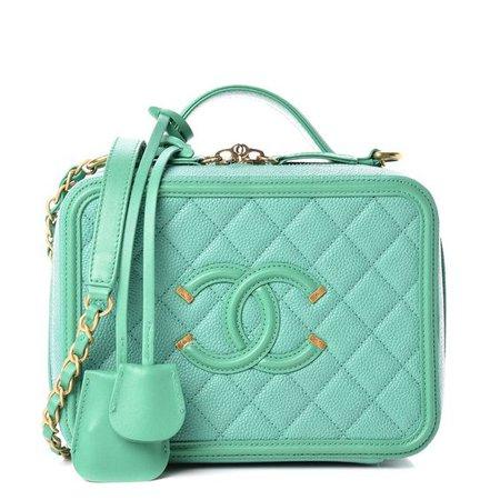 green bag Chanel