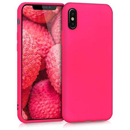 Hot-Pink iPhone x case
