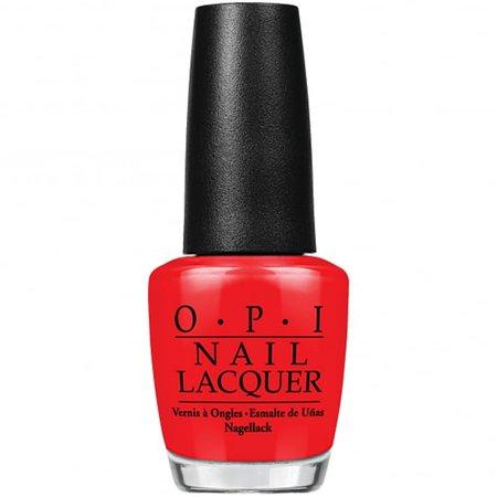 OPI Nail Polish Big Apple Red (NL N25) | Nail Polish Direct