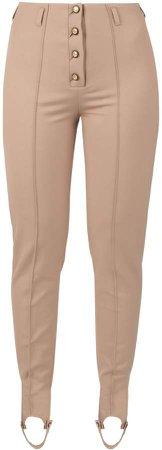 MUZA - High-Rise Stirrup Pants In
