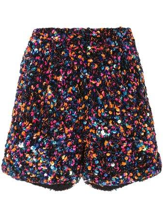 Manish Arora Sequinned Shorts | Farfetch.com