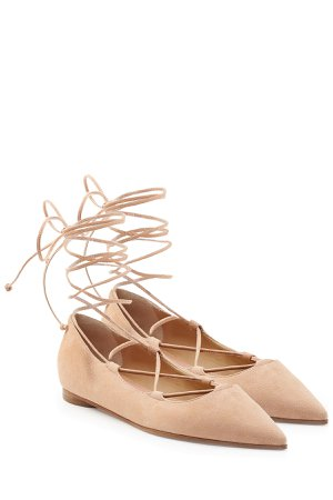 Suede Ballerinas Gr. IT 39