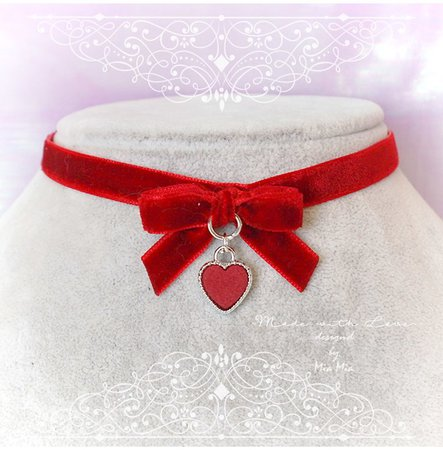 red bow neckaces - Google Search