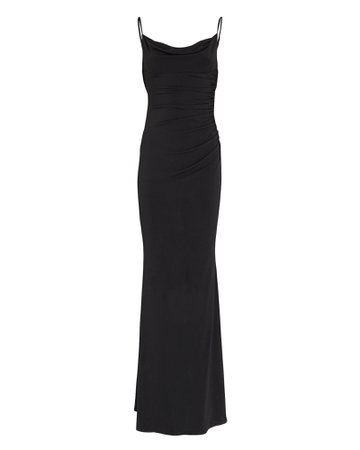 Katie May Surreal Open Back Gown | INTERMIX®