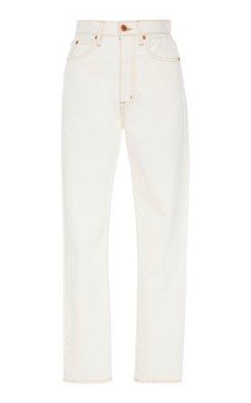Beatnik High-Rise Slim-Leg Jeans by SLVRLAKE Denim   Moda Operandi