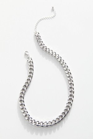 Kyle Curb Chain Necklace   Urban Outfitters