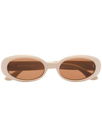 Dmybydmy Valentina Oval Sunglasses - Farfetch