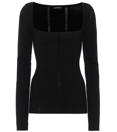 Ann Demeulemeester - Merino wool-blend sweater | Mytheresa