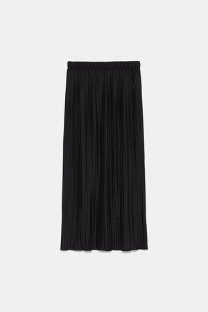 PLEATED SKIRT - Black Dresses-DRESSES | JUMPSUITS-WOMAN | ZARA United States