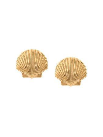 Jennifer Behr shell earrings
