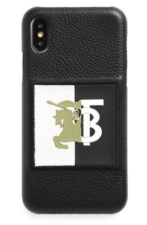Burberry Rufus Knight iPhone X/Xs Case | Nordstrom