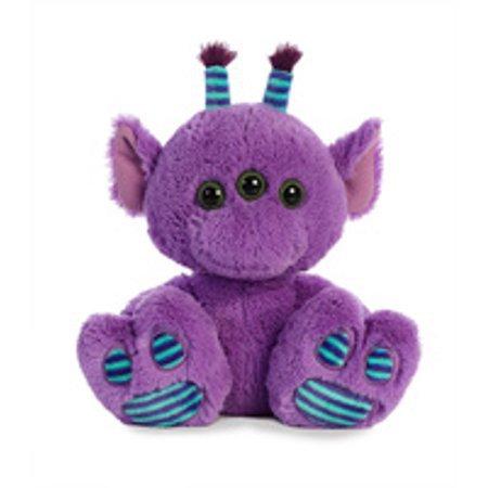 Aurora Purple Alien Taddle Big Toes -Plush Animal - Walmart.com