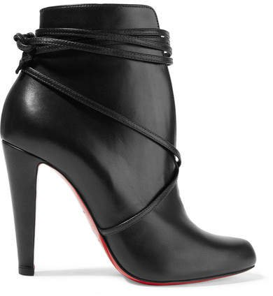 S.i.t. Rain 100 Leather Ankle Boots - Black