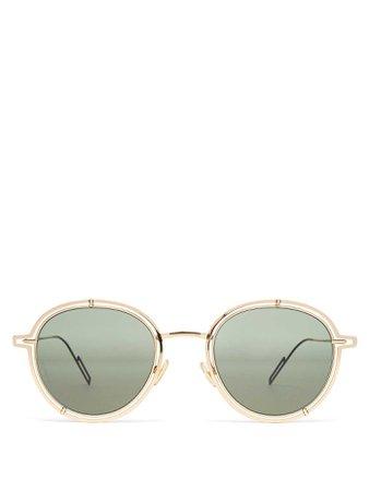 DIOR0210S round-frame sunglasses   Dior Homme Sunglasses   MATCHESFASHION.COM FR