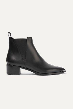 Acne Studios | Jensen leather ankle boots | NET-A-PORTER.COM