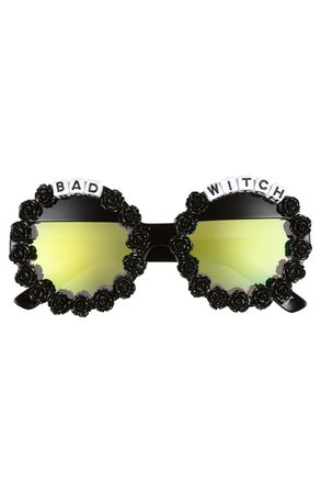 Rad + Refined Bad Witch Round Sunglasses | Nordstrom