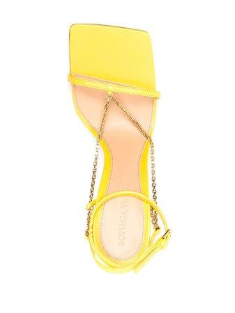 Bottega Veneta stretch sandals yellow 651385VBSF0 - Farfetch