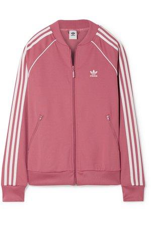 adidas Originals   SST Striped jersey track jacket   NET-A-PORTER.COM