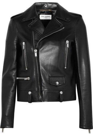 Perfecto Leather Biker Jacket - Black