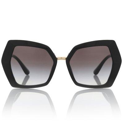 Dg Monogram Oversized Sunglasses | Dolce & Gabbana - Mytheresa
