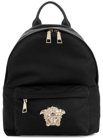 Versace Medusa Palazzo backpack $1,075 - Buy Online - Mobile Friendly, Fast Delivery, Price