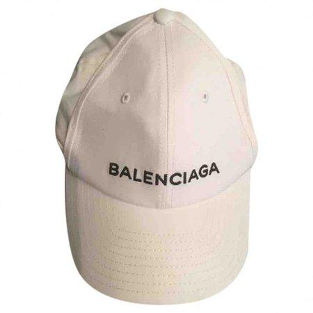 Sombreros Balenciaga Blanco talla 55 cm de en Algodón - 10969882