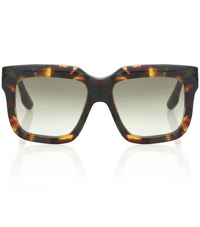 Large Bevelled Square sunglasses