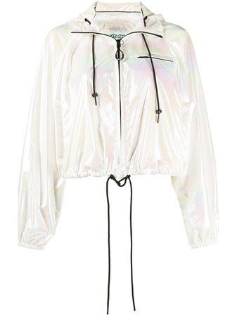 Kenzo faded cropped jacket - FARFETCH