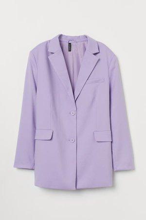 Oversized Blazer - Light purple - Ladies | H&M US