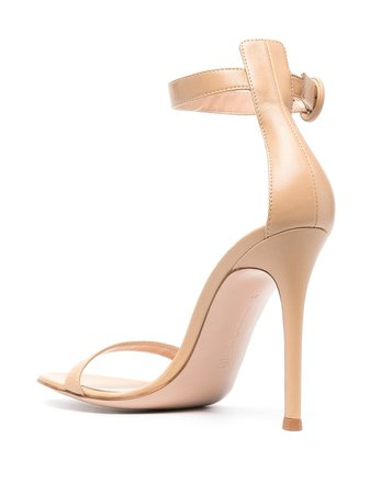 Gianvito Rossi Athena leather sandals