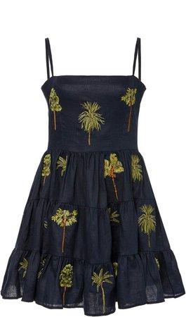 Agua by Agua Bendita Lima Tropico Mini Dress