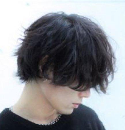 grunge guy hair