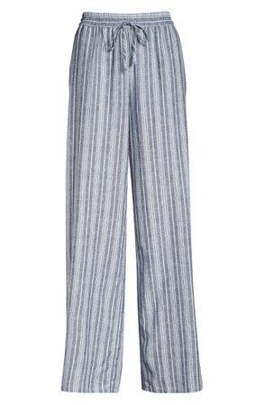 Nordstrom Romantic Linen Blend Pajama Pants   Nordstrom