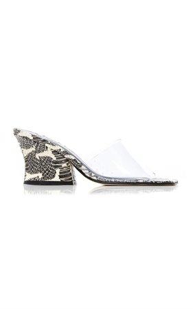 Dolly Leather Pvc Sandals by by FAR | Moda Operandi