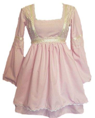 baby pink lana dress