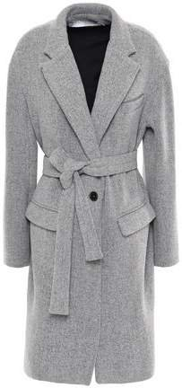 Charade Belted Wool-blend Coat