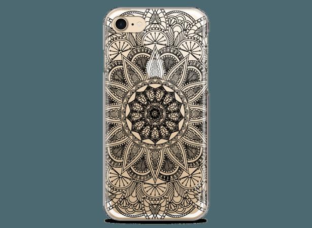 Coque iPhone 7/8 Black Mandala | Master Case