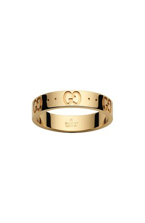 Gucci Icon Double G Gold Ring | Nordstrom