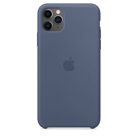 iPhone 11 Pro Max Silicone Case - Alaskan Blue - Apple