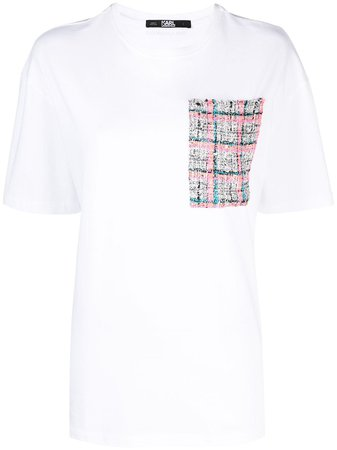 Karl Lagerfeld Boucle Pocket T-shirt - Farfetch
