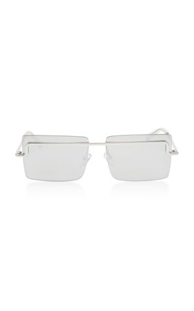 The International Square Frame Sunglasses by Adam Selman X Le Specs   Moda Operandi