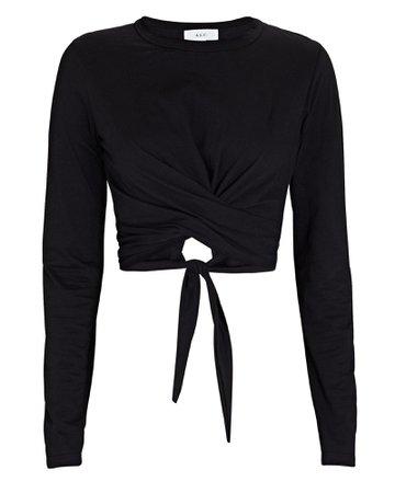 A.L.C. Juliette Cross Front T-Shirt | INTERMIX®