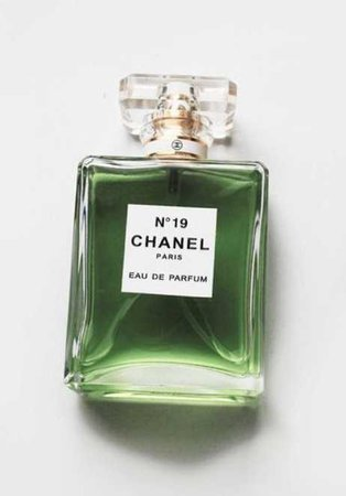 Chanel perfume green