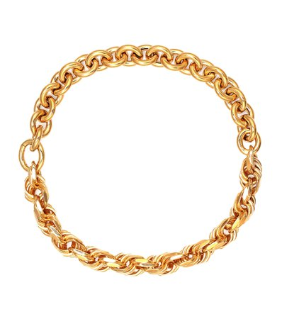 Gold-Plated Sterling Silver Chain Necklace - Bottega Veneta | Mytheresa