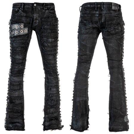 Metal Edge Custom Pants - Wornstar
