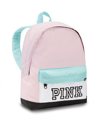 victoria secret pink backpack mini pastel