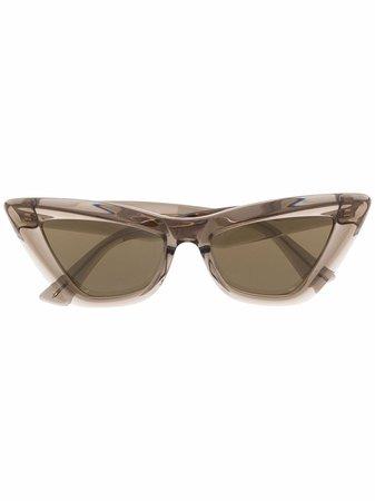 Bottega Veneta Eyewear cat-eye Tinted Sunglasses - Farfetch