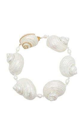 Prada Shell Necklace