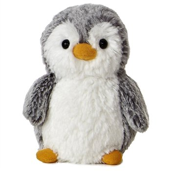 Pompom the Little Baby Penguin Stuffed Animal by Aurora at Stuffed Safari